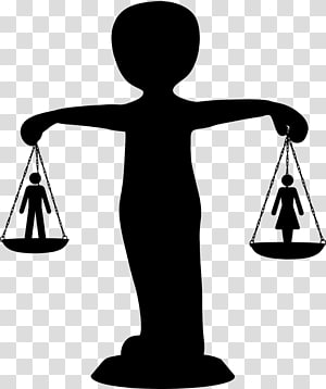 Gender equality Social equality Woman Gender inequality, Scale PNG clipart
