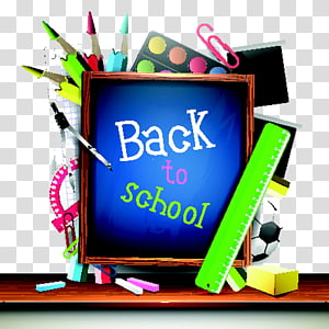 School Poster, Blackboard and learning tools PNG clipart