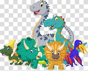 cartoon dinosaurs PNG clipart