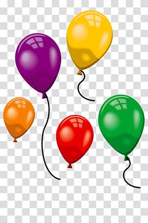 Gas balloon Toy balloon, balloon PNG clipart