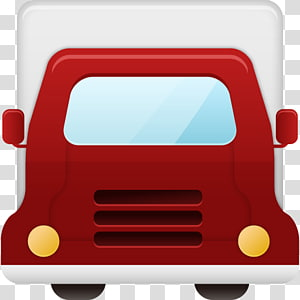 red vehicle art, automotive exterior motor vehicle hardware, Truck PNG clipart