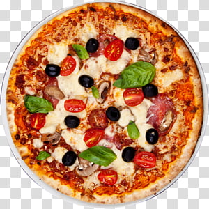 pizza with tomatos, New York-style pizza Italian cuisine Take-out Pizza Margherita, Pizza PNG clipart
