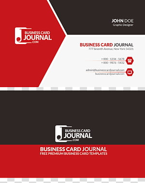 Business Card Journal, Paper Business card Red Advertising, business card PNG clipart