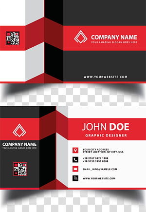 Business card Visiting card Graphic design, Business Card Design, John Doe graphic design advertisement PNG clipart
