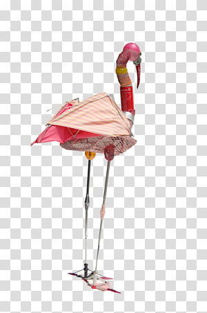 Art Flamingos Scrap Metal Idea, Sukehiro Tomita PNG