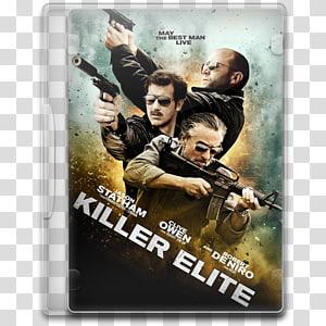 poster action film dvd, Killer Elite PNG