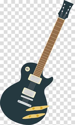Blue Rock Guitar PNG