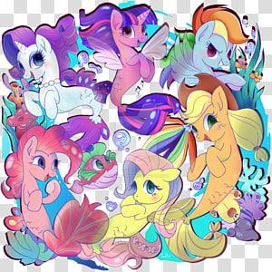 Pony Rarity Pinkie Pie Applejack Rainbow Dash, my little pony PNG clipart