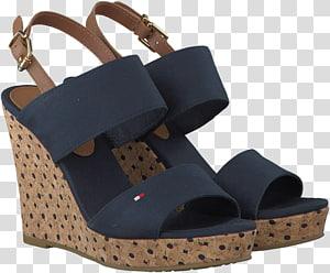Shoe Sandal Footwear Tommy Hilfiger Wedge, sandal PNG