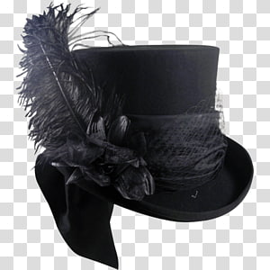 The Mad Hatter Top hat Bowler hat Leather helmet, Hat PNG