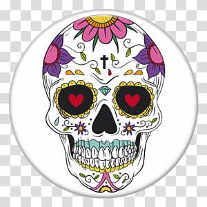 La Calavera Catrina Mexican cuisine Day of the Dead Human skull symbolism, skull PNG