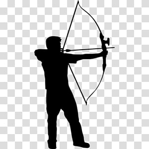Sticker Sport Adhesive Archery Bow and arrow, others PNG