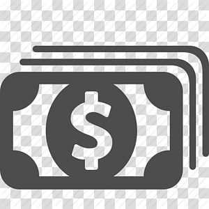 black dollar banknote illustration, Money Finance Payment Banknote, Money Icon PNG clipart