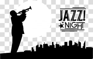 New Orleans Jazz & Heritage Festival Silhouette, Saxophone PNG