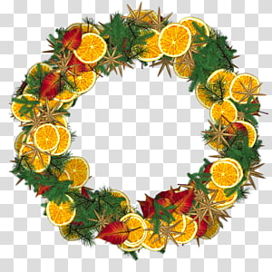 christmas wreath PNG
