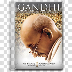 Gandhi: The Screenplay DVD Film Actor Male, dvd PNG