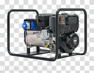 Electric generator Petrol engine Engine-generator Power, engine PNG clipart