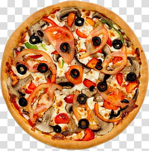 round pizza, Sushi pizza Take-out Fast food Submarine sandwich, Pizza PNG clipart