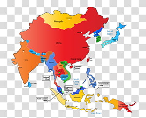 Asia-Pacific East Asia graphics World map, world map PNG