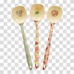 Wooden spoon Melamine Cutlery Tea, spoon PNG clipart