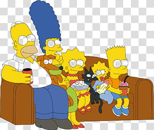 Marge Simpson Homer Simpson Simpson family The Simpsons Guy Animation, Animation PNG clipart