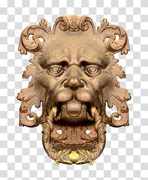 Lion , lionhead PNG