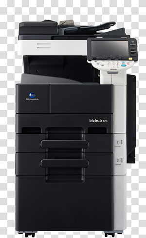 Konica Minolta Multi-function printer copier, baizhuo PNG