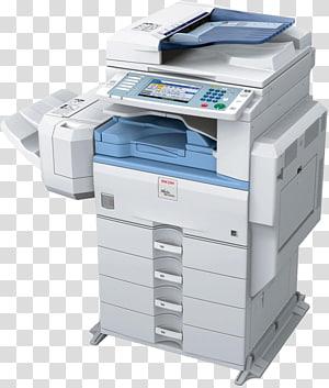 Ricoh copier Toner cartridge Printing, printer PNG