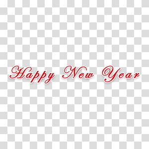New Years Day Holiday, Happy New Year holiday elements PNG