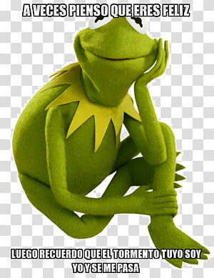 Kermit the Frog Miss Piggy Gonzo Beaker, rage comic PNG clipart