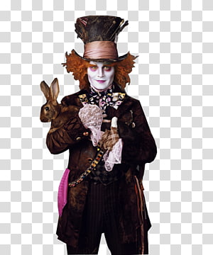 The Mad Hatter Alice in Wonderland White Rabbit March Hare, alice in wonderland PNG clipart