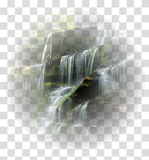 Waterfall Desktop Drawing Landscape, others PNG