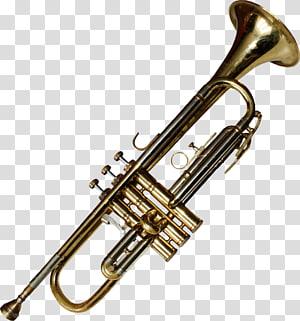 Trumpet Musical Instruments Brass Instruments Trombone, trumpet angel PNG