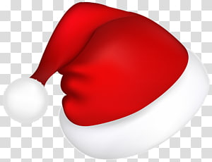 santa's red hat PNG clipart