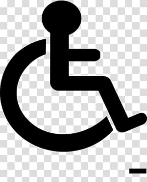 Disability Disabled parking permit Sign Wheelchair Accessibility, wheelchair PNG clipart