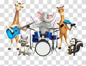 animal band PNG