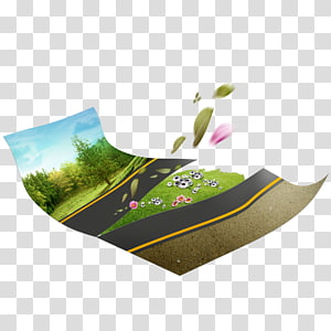 Creativity, Cut the road PNG clipart
