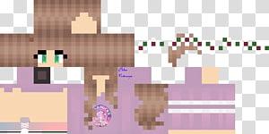 Minecraft skin, Minecraft Video game Girl Theme, skin PNG
