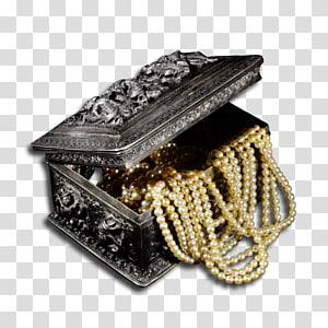 Jewellery, Silver jewellery PNG