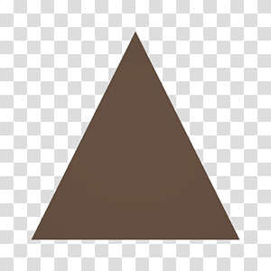 Unturned Equilateral triangle Regular polygon Roof, triangular floor PNG