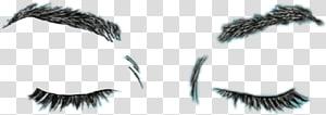 Eyelash extensions, Eye PNG clipart