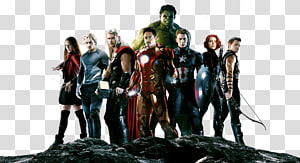 The Avengers, Avengers Group PNG clipart