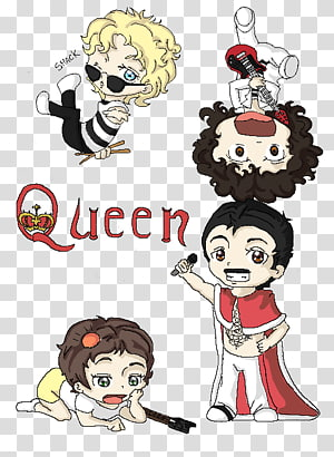 Queen Music Drawing Evanescence, Queen Band PNG clipart