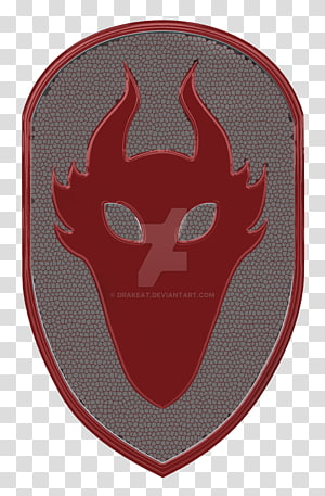 Character, dragon shield PNG clipart