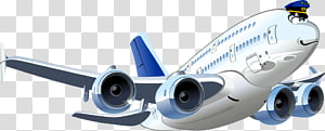 Airplane Cartoon, Cartoon airplane PNG