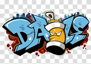 Dale graffiti graphic cart, Graffiti T-shirt Visual arts Street art, Graffiti PNG clipart
