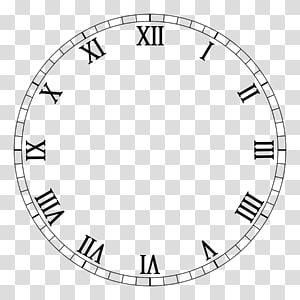 Clock face Roman numerals Movement Digital clock, clock PNG clipart