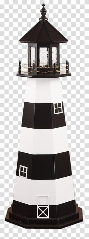 Lighthouse Garden Yard Wood, Beaver Dam PNG