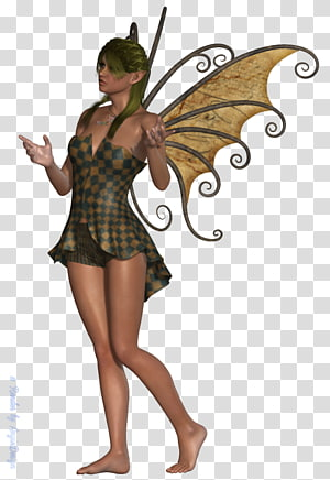 Fairy Costume design Pin-up girl, Fairy PNG clipart