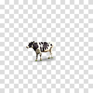 Cattle Pattern, Dairy cow PNG